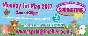 Springtime Live 2017 banner