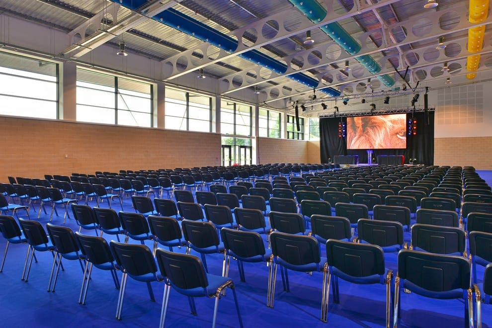 Hall 1 conference space