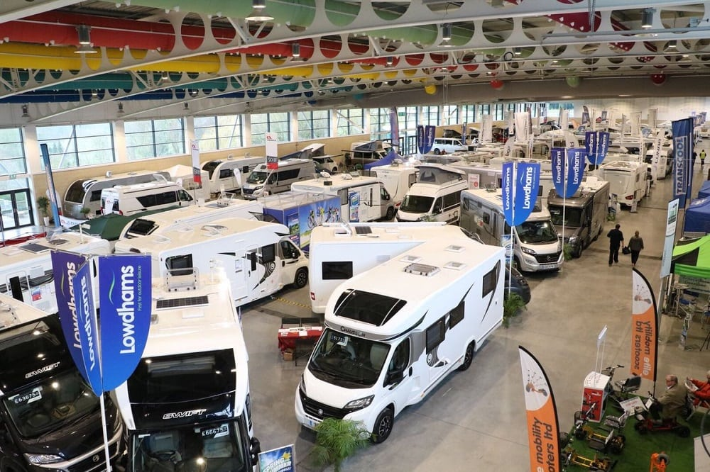 Motorhome and campervan show