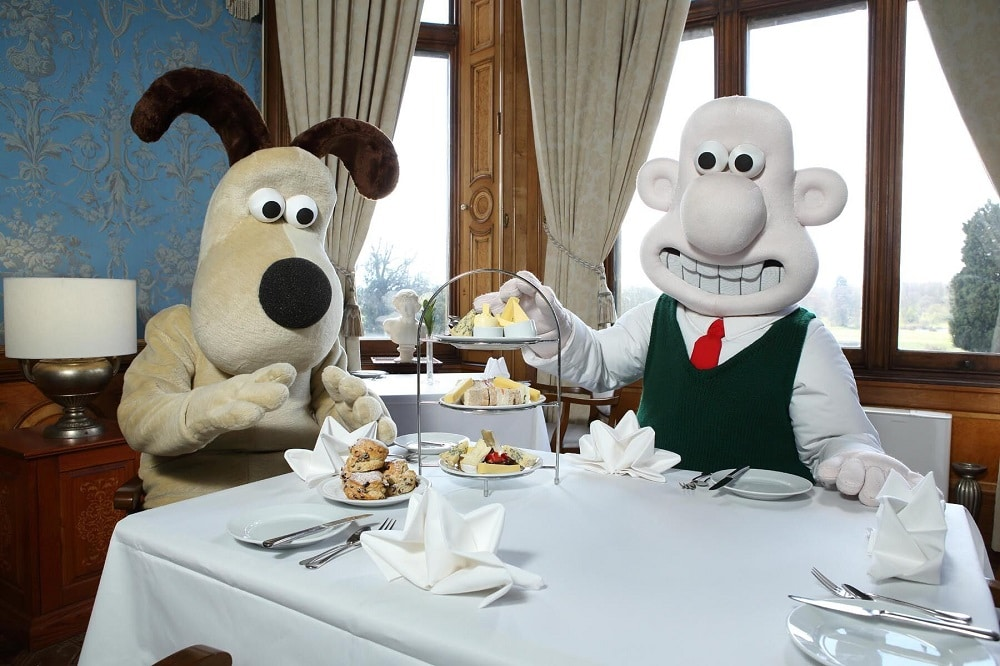Wallace & Gromit at CheeseFest