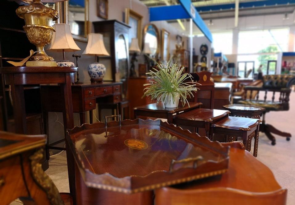 Antiques for sale. Harrogate
