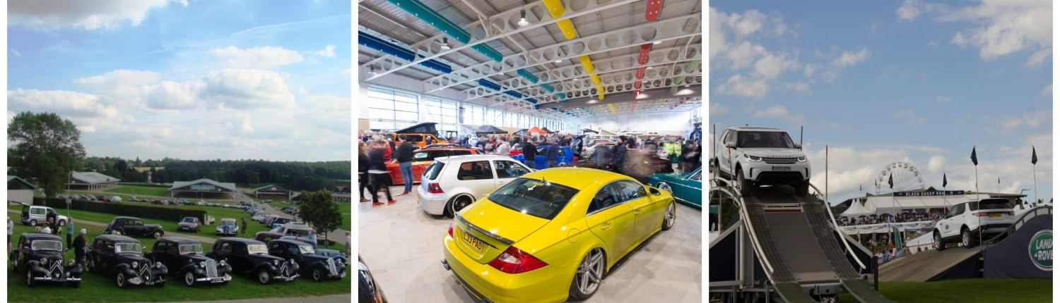 Automotive events in a modern, purpose-built environment at the Yorkshire Event Centre