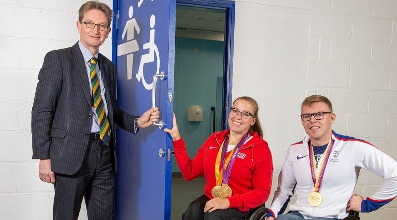 Opening of Changing Places facilities at YEC
