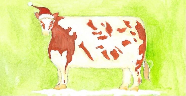 GYS Christmas Heifer