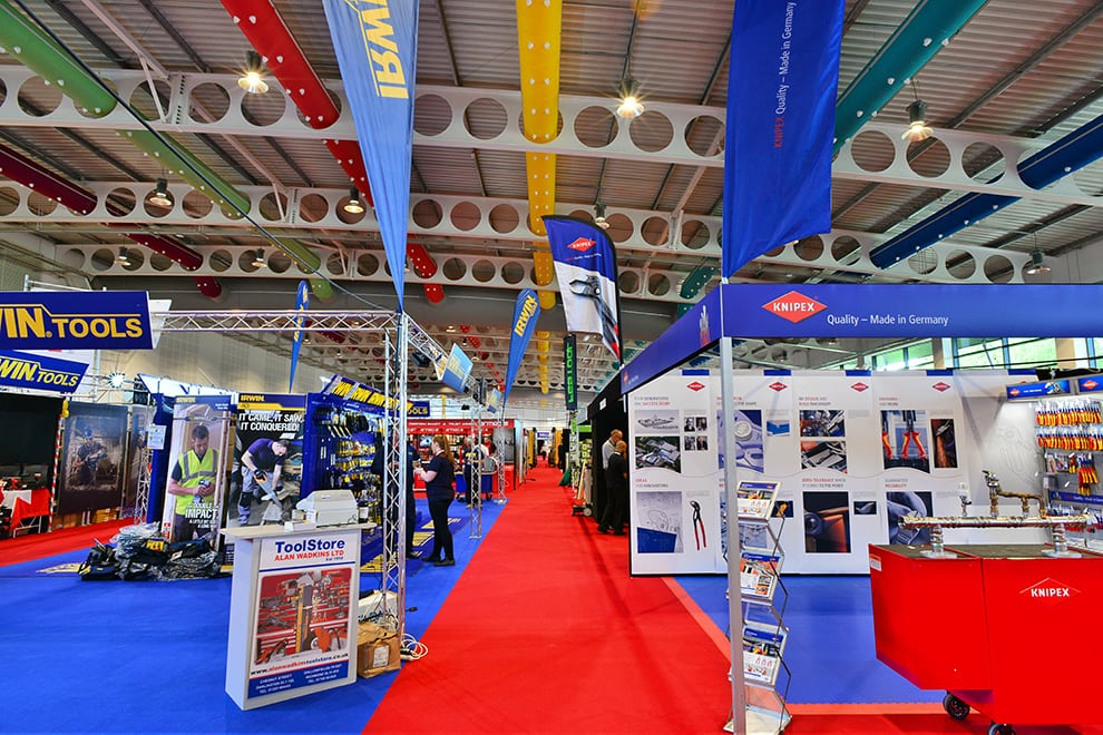 YEC Hall 1 Exhibition