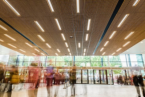 YEC Hall 1 blur