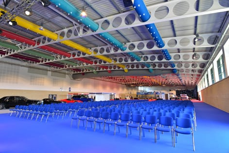 YEC Hall 1 Seating