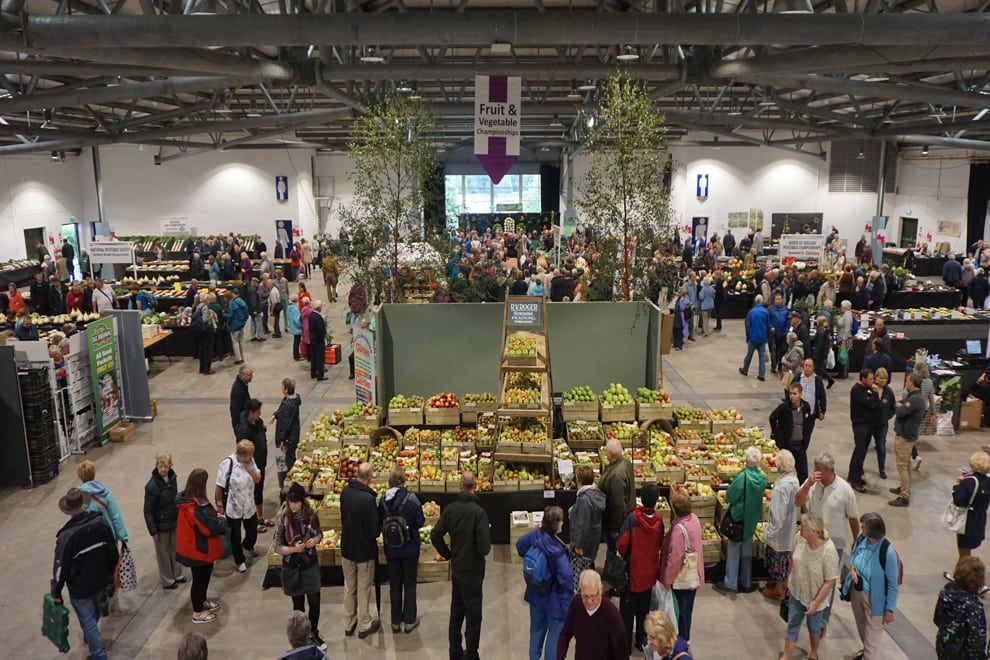 YEC Hall 2 flower show