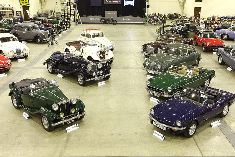 Automotive auction venue