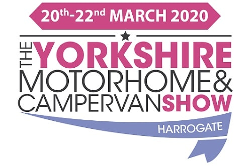 The Yorkshire Motorhome and Campervan show logo