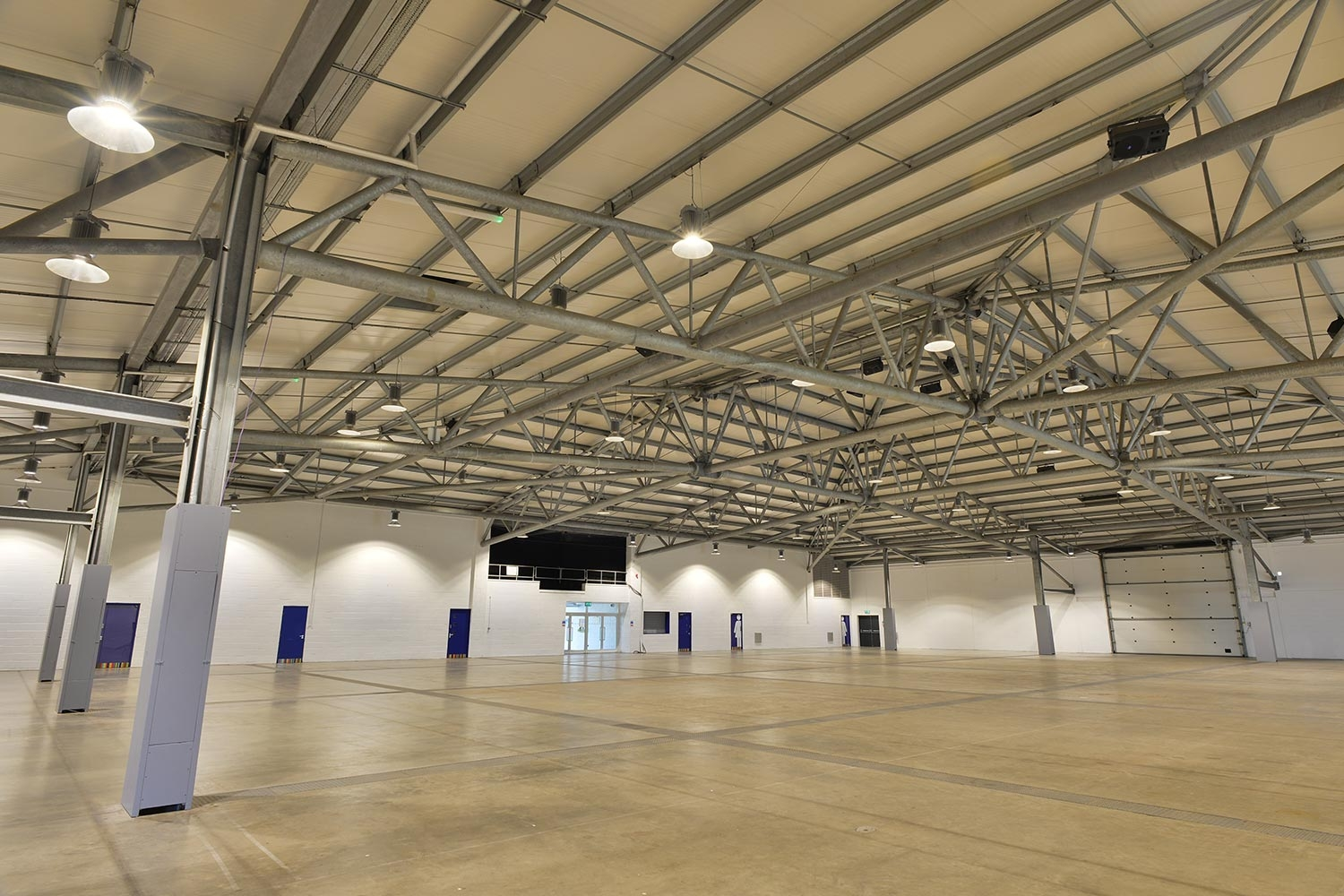 Our Spaces - Hall 2 Interior - Yorkshire Event Centre
