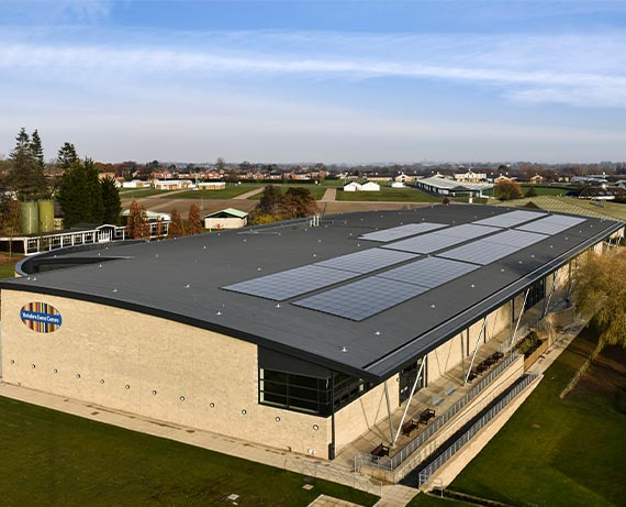 Yorkshire Event Centre Solar Panels