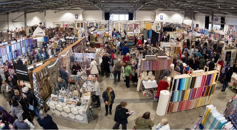 Quilting show, Yorkshire Event Centre