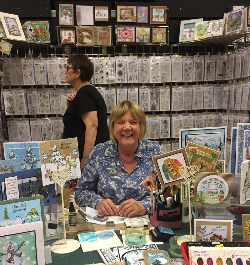 Art stamp and papercraft show, Harrogate