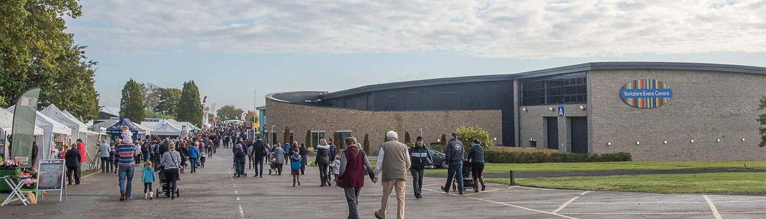 Whats on at the Yorkshire Event Centre