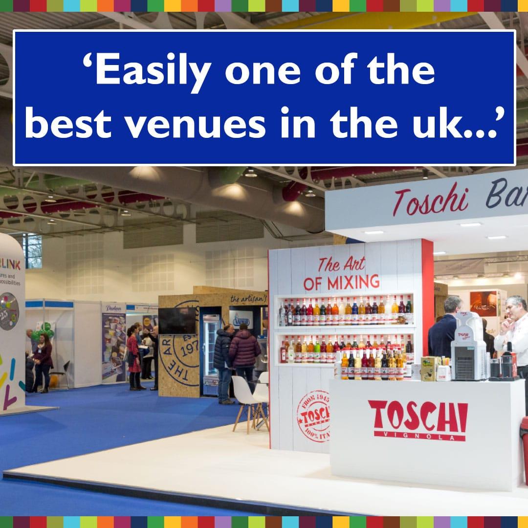 Trade show venue testimonial