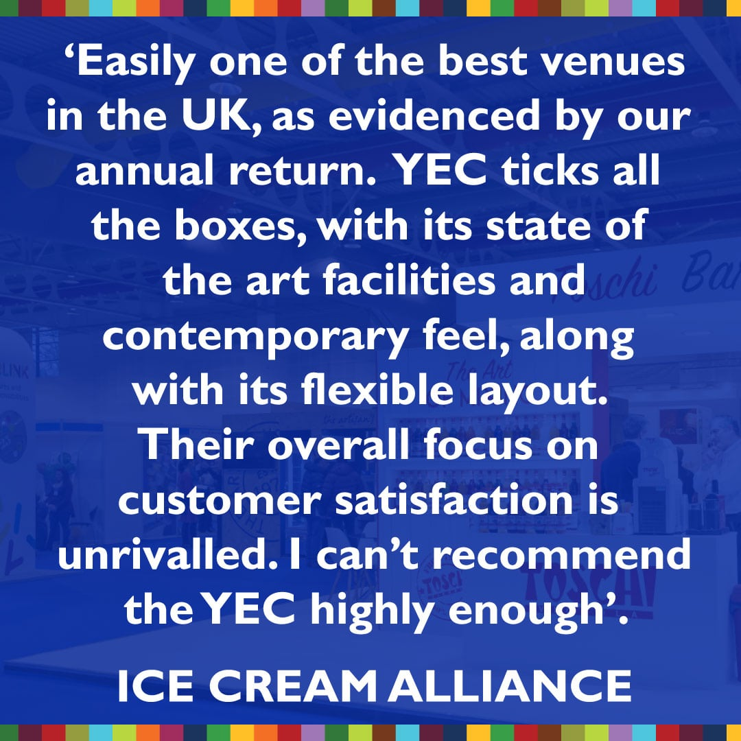 Trade show venue review