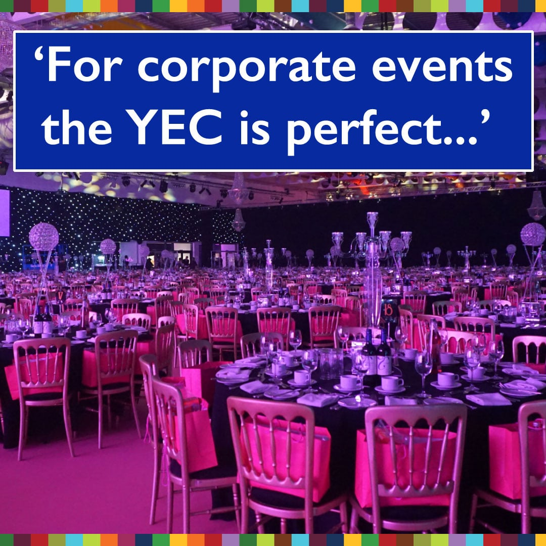 corporate event venue testimonial