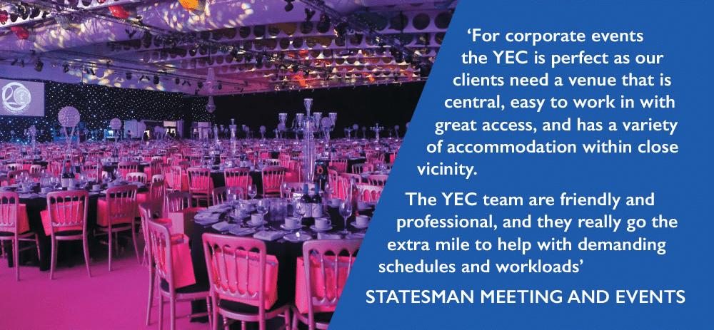 Yorkshire Event Centre Testimonial