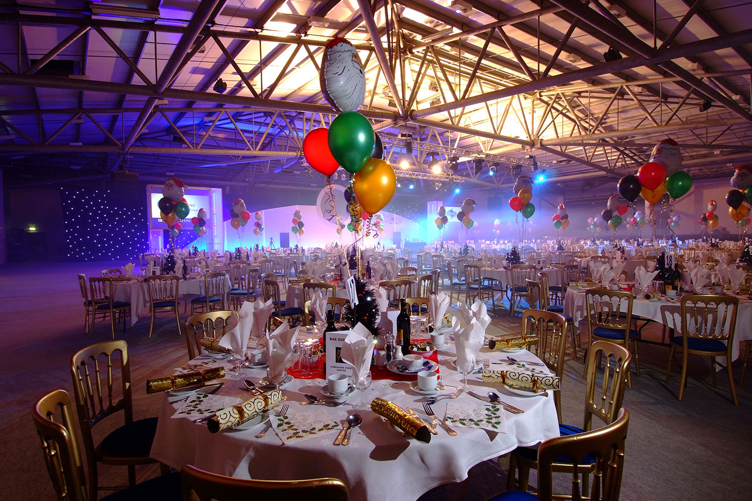 Hall 2 is a versatile space for corporate events at the Yorkshire Event Centre