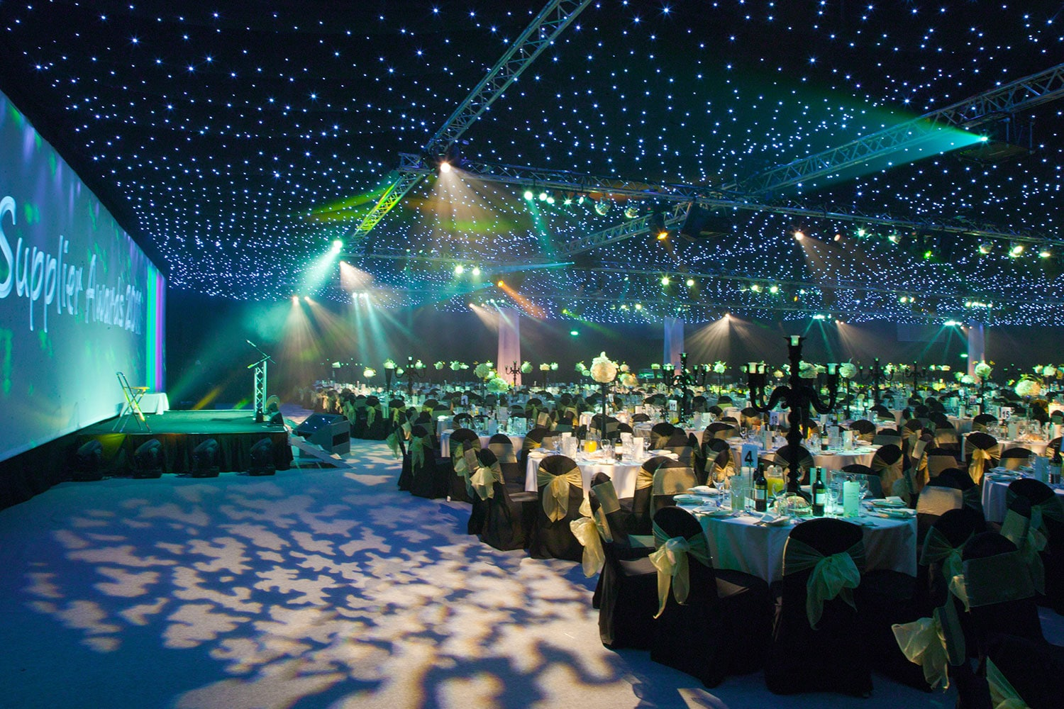 Dinners and awards at the Yorkshire Event Centre