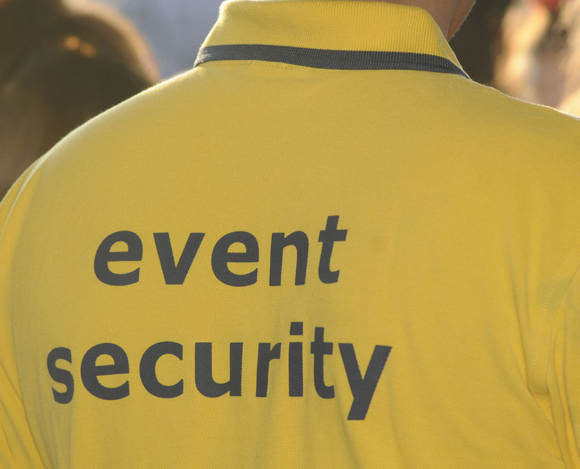 Event security at the Yorkshire Event Centre